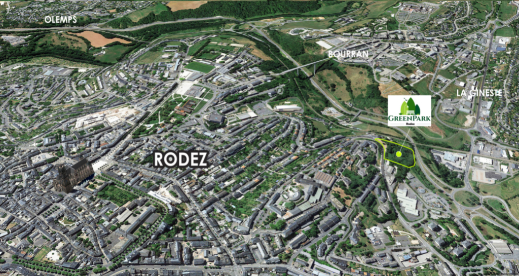 RODEZ - Appartement T2 + PARKING 2/4